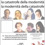 presentazione 'la catastrofe della modernità…'
