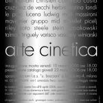 invito mostra arte cinetica e manifesto